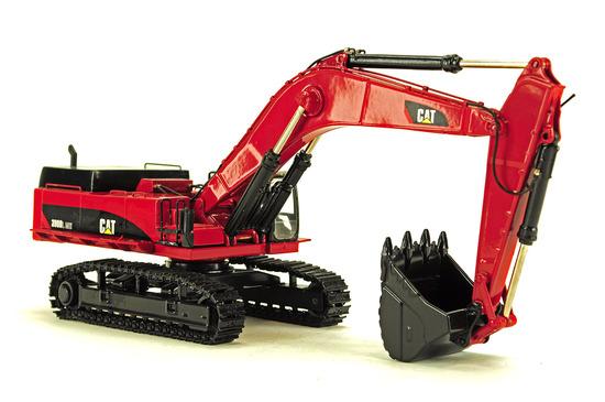 Caterpillar 390DL ME Excavator - Red