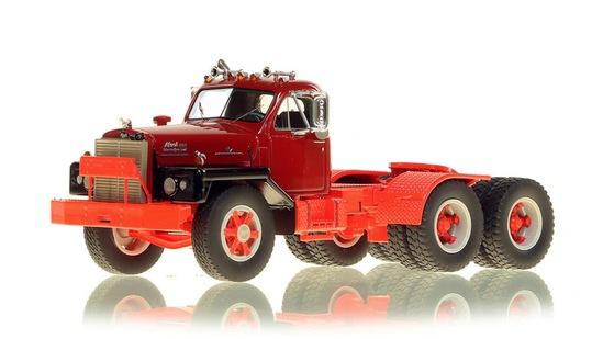 Mack B-81 Tandem Tractor - Burgundy & Red