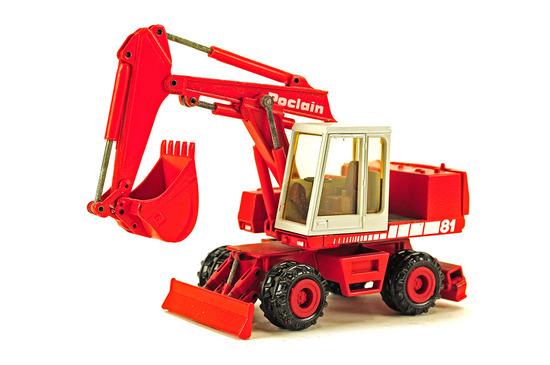 Poclain 81P Wheeled Excavator