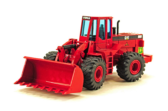 Caterpillar 966F Wheel Loader - US Forestry Red