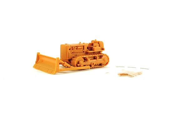Caterpillar 60 Orange Bulldozer - Plastic