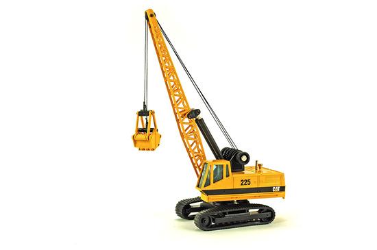 Caterpillar 225 Crane w/Grapple