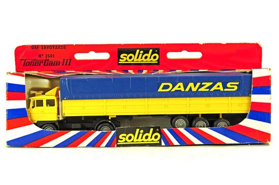 DAF Tractor w/Curtain Trailer - Danzas