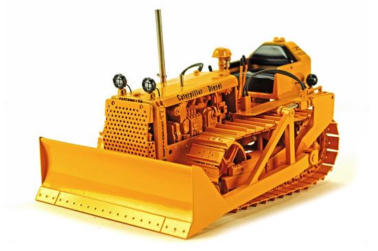 Caterpillar D2 Bulldozer - Brass
