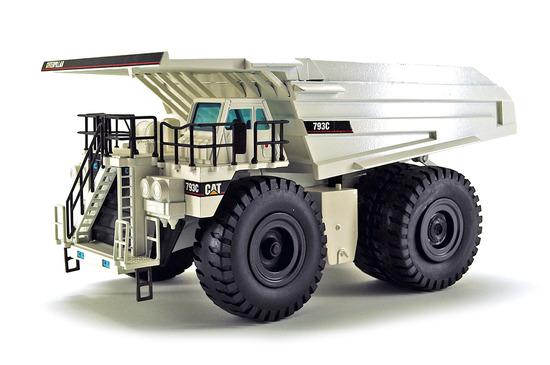 Caterpillar 793C Mining Truck - White