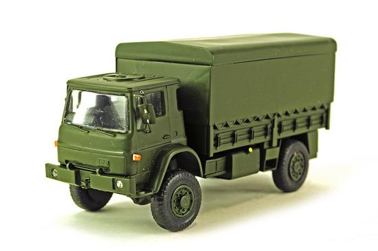 Bedford Troop Carrier Truck
