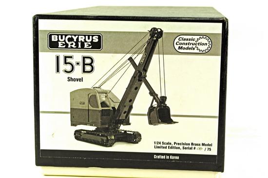 Bucyrus 15-B Shovel - Brass