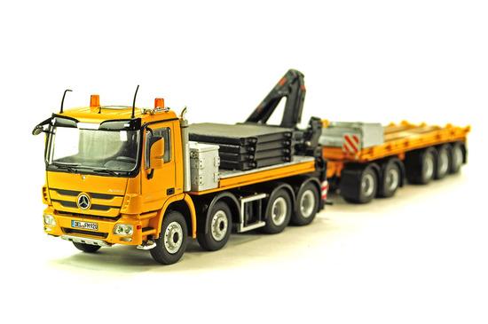 Mercedes Actros Heavy Tractor w/Trailer