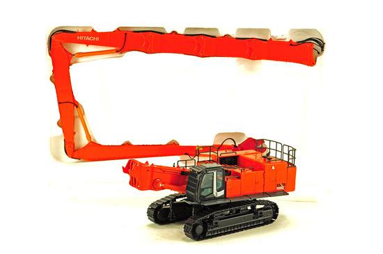 Hitachi Zaxis 1000K High Reach Excavator w/Crusher