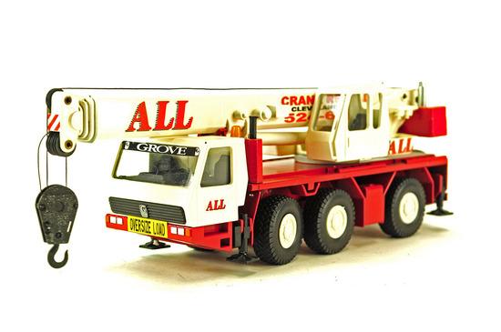 Grove GMK3050 Mobile Crane - All Crane