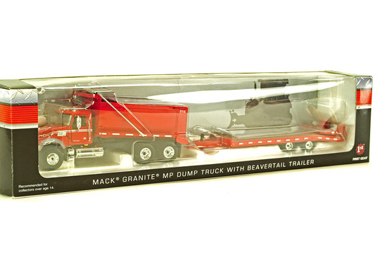 Mack Tractor w/Beavertail Trailer
