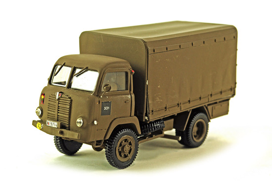 Belgium Army Land Forces Military Truck