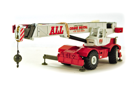 Grove RT750 Mobile Crane - All Crane