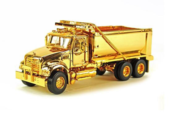 Mack Granite Dump Truck - Gold Edition