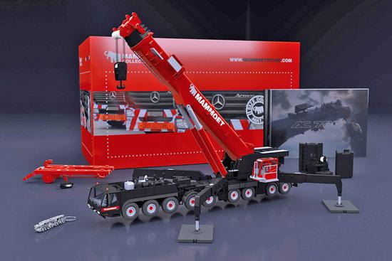 Demag AC700-9 Mobile Crane - Mammoet