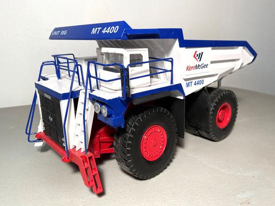 Terex MT4400 Dump Truck - Kerr McGee