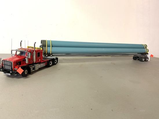Western Star Tractor w/Pipleline Trailer & Load