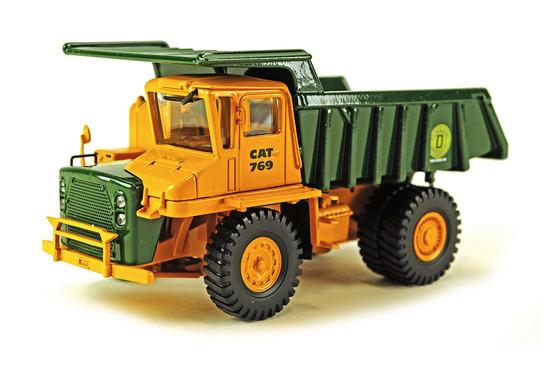 Caterpillar 769 Dump Truck - DeFelice Colors