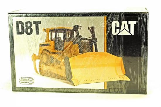 Caterpillar D8T Bulldozer - Anti Glare - Brass