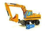 Caterpillar 224 Excavator - WHEX w/Krupp Hammer
