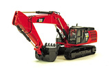 Caterpillar 336E LME Excavator - Custom Red