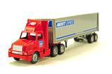 International Tractor w/Box Trailer - Averitt Express