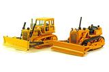 Caterpillar Set of Two D4 Bulldozers