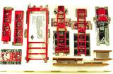Peterbilt 379 w/Nelson 3x3x3 Trailer - Red