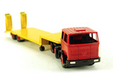 Mercedes Tractor and Dropdeck Trailer w/Ramps