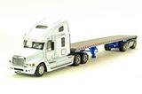 Freightliner Century Tractor w/Flatbed Trailer