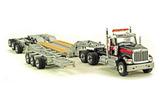 International HX520 Tandem Tractor w/HDG Trailer - Mammoet Colors