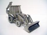 Case 580 Super L Backhoe Loader - Pewter