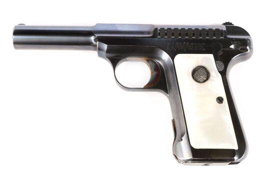Savage Model 1907 in .380 ACP.