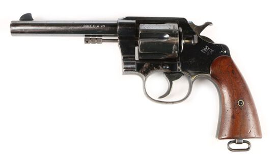 Colt Model of 1909 Army New Service in .45 Long Colt