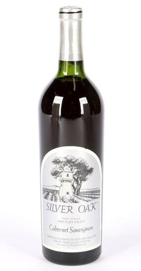 1990 Silver Oak Bonnys Vineyard Cabernet Sauvignon
