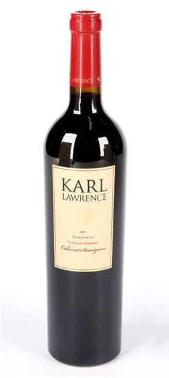 2007 Karl Lawrence To Kalon Beckstoffer Cabernet Sauvignon