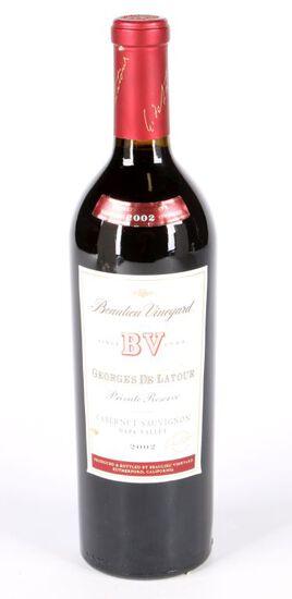 2002 BV Georges de Latour Private Reserve Cabernet Sauvignon