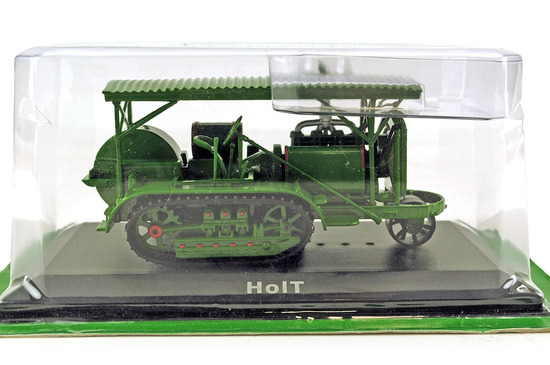 Holt 1917 Steam Tractor