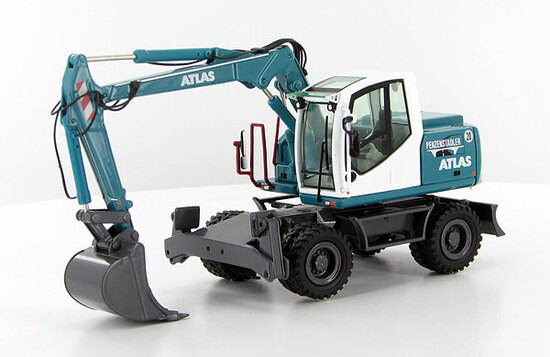 Atlas 140W Wheeled Excavator - Penzenstadler