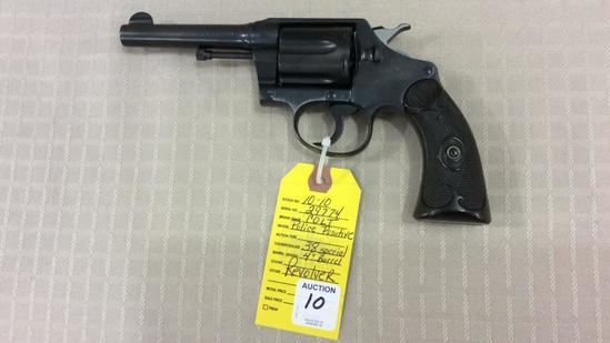 Colt Police Positive 38 Special Revolver Cal .38 ,