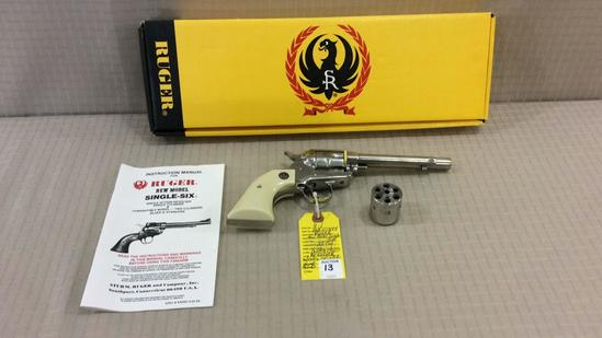 Ruger New Model Single Six 22 Cal Single Action