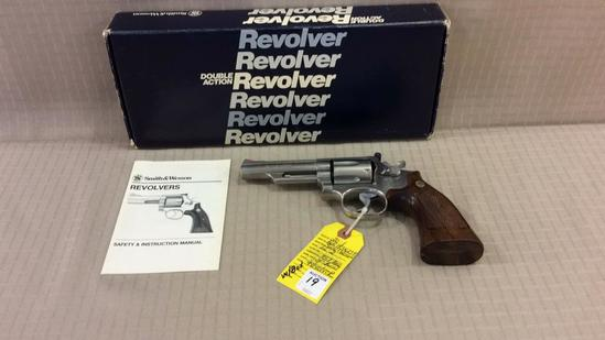 Smith & Wesson Model 66-2 Stainless 357 Mag