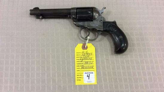 """Colt 1878 Lightning 38 Cal. Revolver 38, 4 ½"""","""