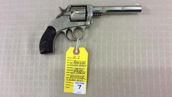 The American Double Action S/A Revolver 38 Cal