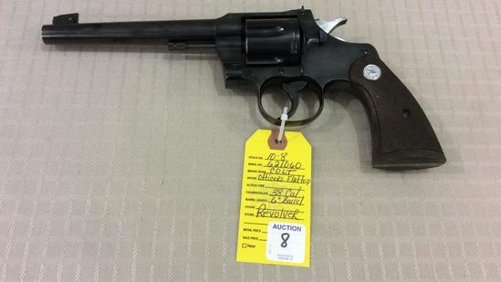 Colt Officers Flattop DA Revolver Cal .38, Rare