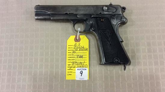 FB Radom VIS Model 35/P.35 (p.) Pistol 9 MM Cal,