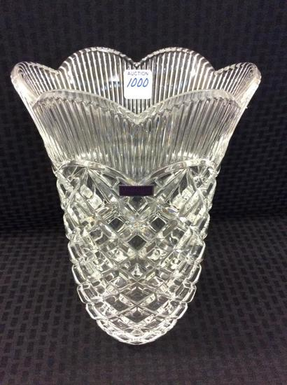 "Waterford Marquis 11"" Crystal Vase"
