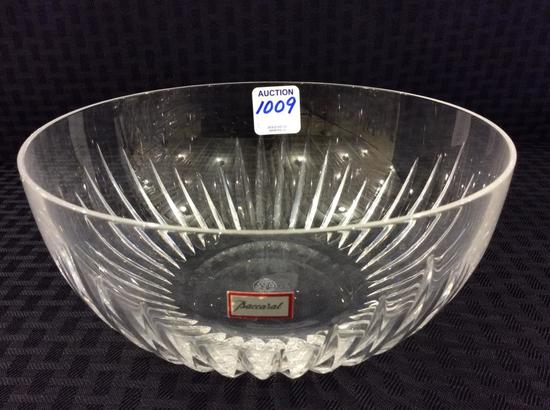 Baccarat Crystal Bowl-Apprx.