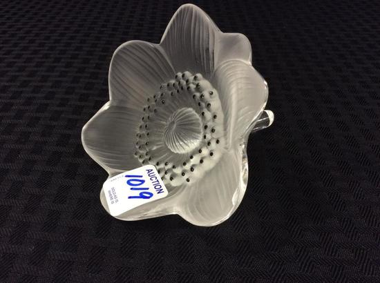 Lalqiue Anemone & Flower (Approx. 4 Inch