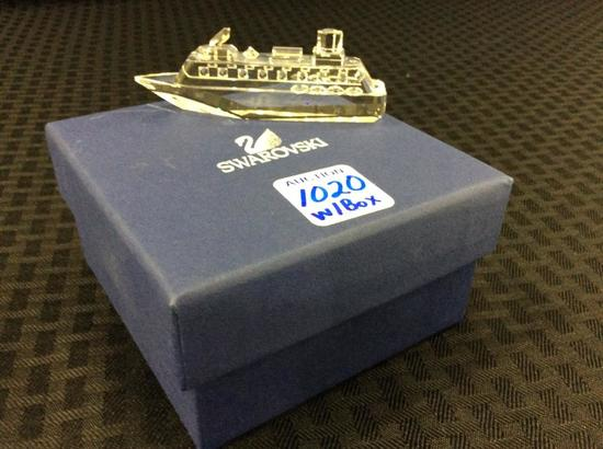 Swarovski Cruise Ship in Original Box